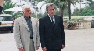 Jean-Paul Belmondo, Alain Delon *** Local Caption *** Patrice Leconte